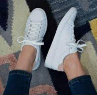 Keds Ace leather sneakers white