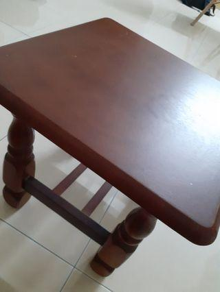 Square Bed Side Table