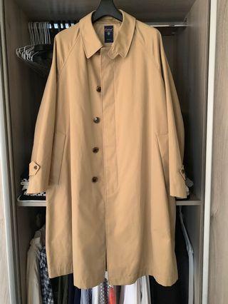 Orcival 巴爾馬肯外套 長版卡其大衣 beams 購入  法國品牌🇫🇷 trench coat