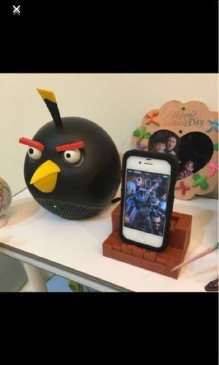 每日好康-iPhone 4s+憤怒小鳥@炸彈鳥 喇叭 大隻的-無包裝