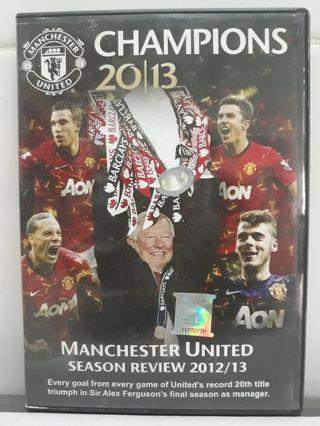 Manchester United Champions 20/13 Season Review DVD