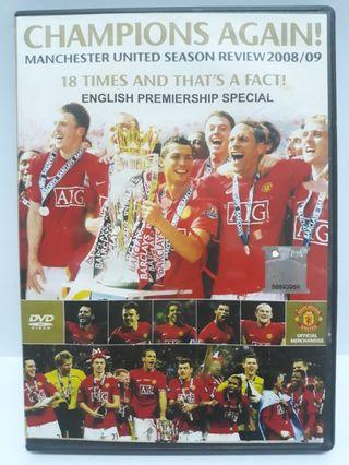Manchester United Champions Again! Season Review 2008/09 DVD