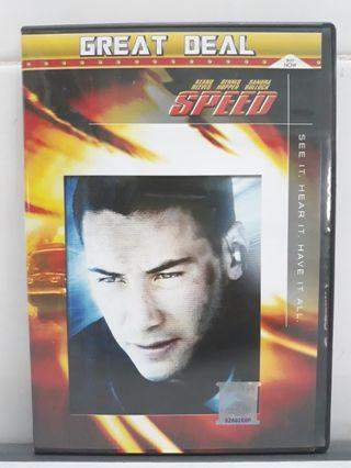 Keanu Reeves Speed DVD