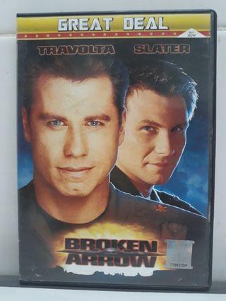 Travolta Slater Broken Arrow DVD