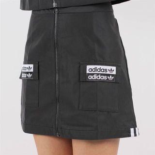 adidas 拉鍊尼龍短裙