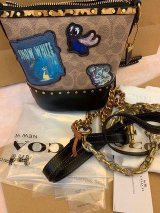 Ready stock authentic coach Disney 32930 women sling bag cross bag handbag