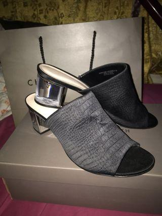 Charles & Keith open toe/ slip on heels