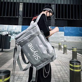 韓版潮牌原創休閒雙肩大容量背包