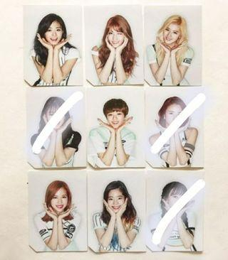 WTT TWICE Page 2 photocard