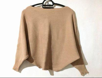 Brown sweater we are dollies