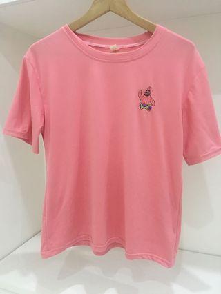 派大星可愛上衣 粉紅色