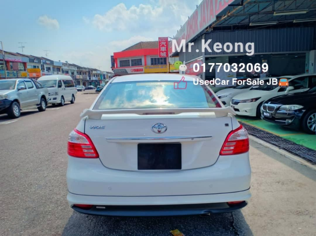 2010TH🚘TOYOTA VIOS 1.5AT G SPEC Full Bodykit🎉JohorPlate Cash💰OfferPrice💲Rm33,800 Only‼Low MILEAGE‼LowestPrice InJB‼Interested Call📲KeongForMore🤗
