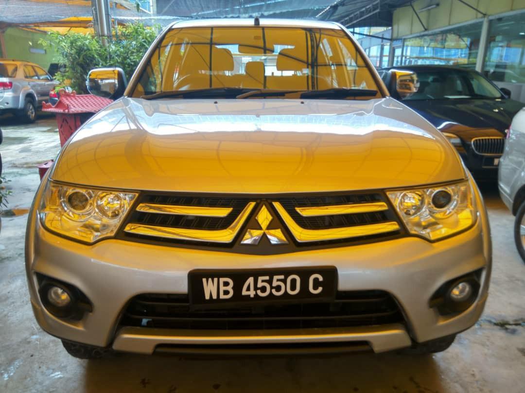 2014 Mitsubishi Triton 2.5 (A) DI-D New Face lift 1 Owner.     http://wasap.my/601110315793/TritonDI-D2014