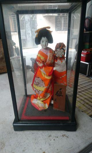 早期日本和服娃娃