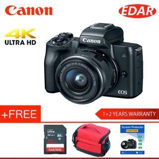 Canon Eos M50 EF-M 15-45mm Lens