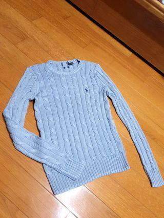 美國全新正品Ralph Lauren麻花針織上衣