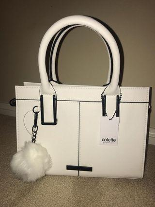 #belanja0 Collete White Bags