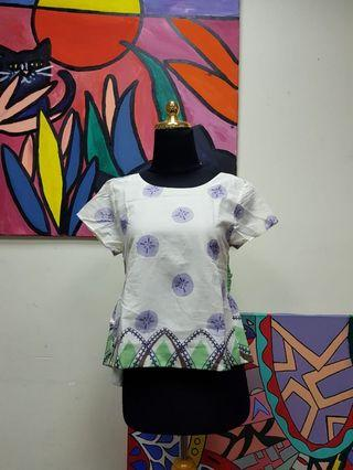 #belanja0 Bow Top Green White