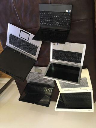 Laptop, phones, tablets, iPod, dashboard, xbox controller