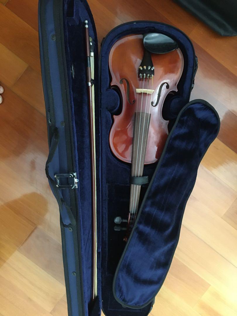 4/4 Violin 小提琴 B & H 400 series