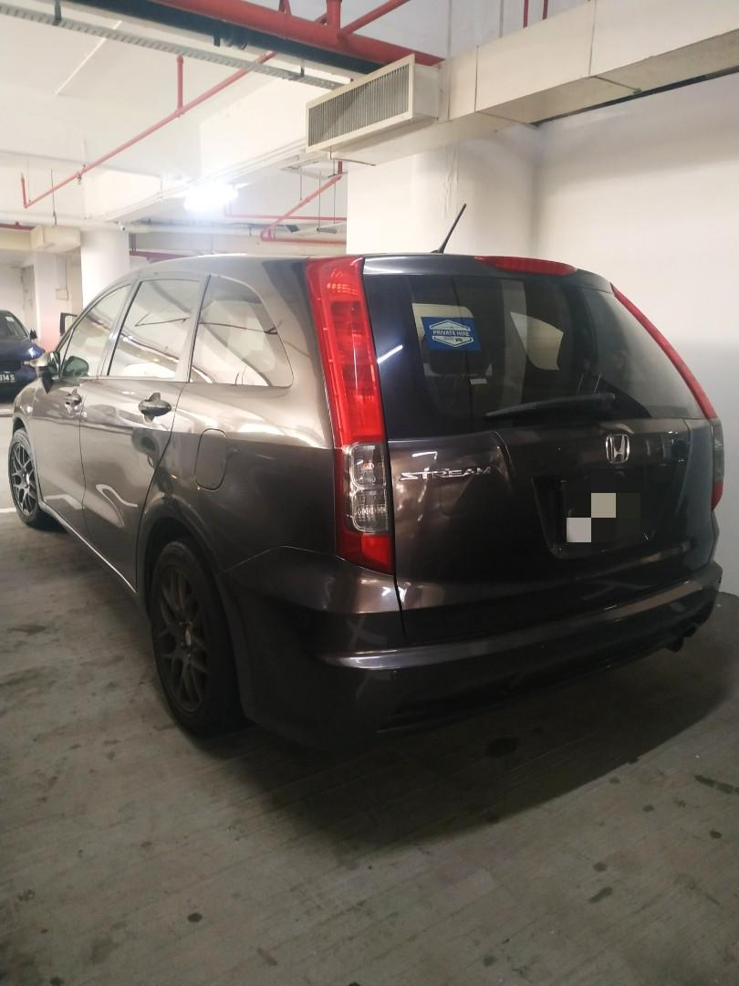 $52 Daily. Honda Stream For Rent .Other cars avail too.