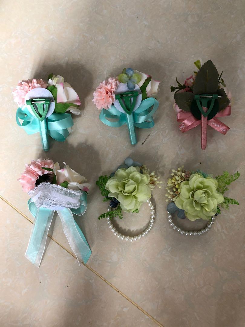 婚禮物資-手花襟花