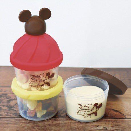 🦐迪士尼 奶粉分裝罐/零食盒/副食品分裝罐(米奇)