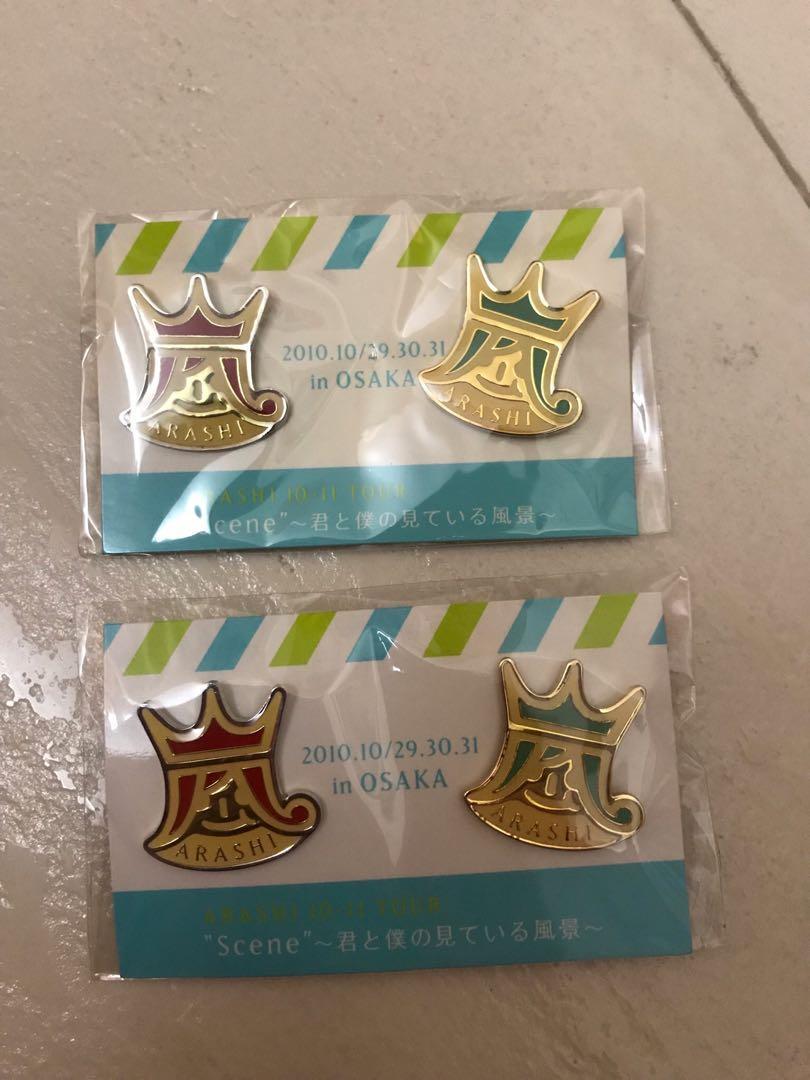 嵐 Arashi 2010-11 Con 大阪限定周邊