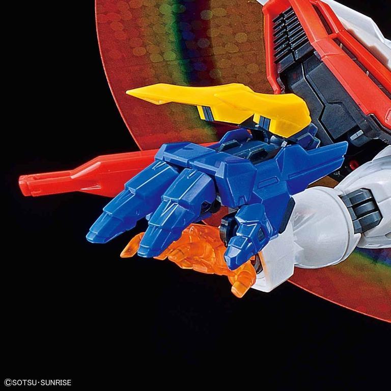 萬代 Bandai 鋼彈G 機動武鬥傳 HiRM 1/100 God 神威鋼彈 神鋼彈