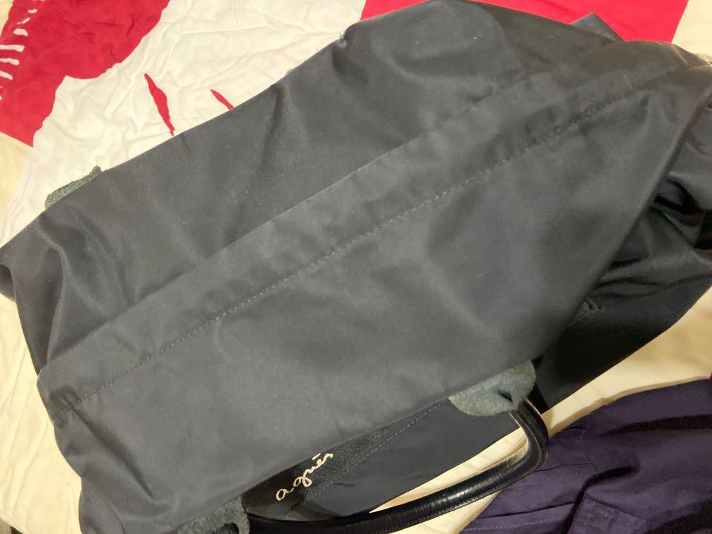 真品a gnes.b大手提包 旅行袋日本製