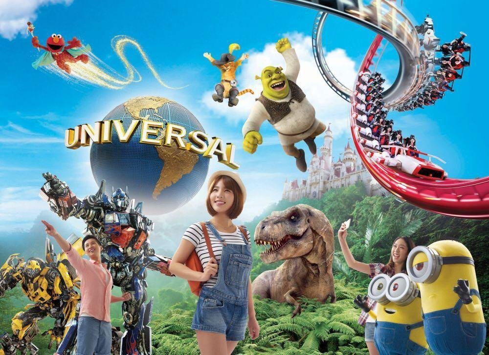 USS Universal Studio Singapore One-Day Admission Tickets