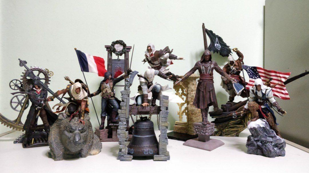 Assassin S Creed Figurines Statues Toys Games Bricks