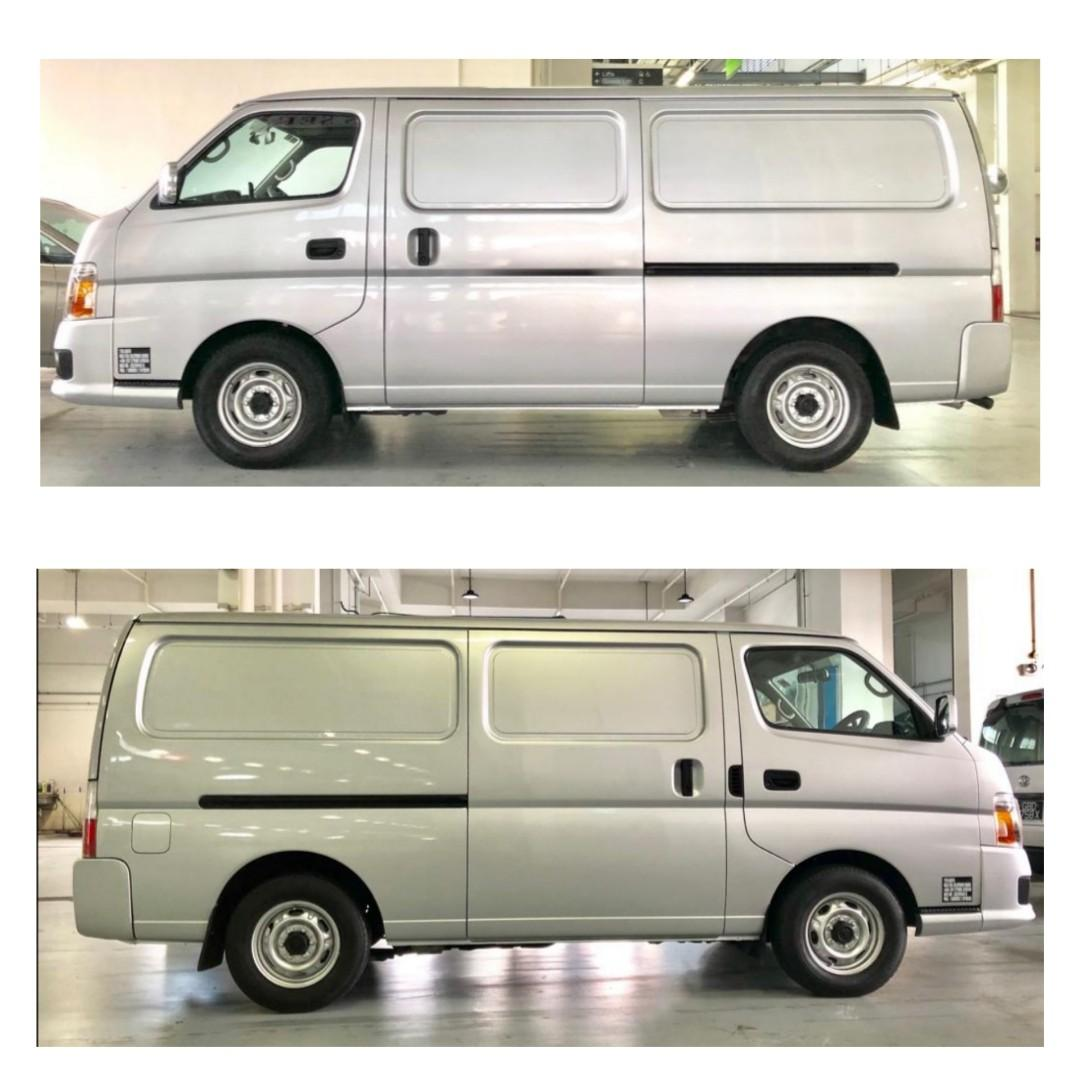 Automatic Gear Nissan Urvan for Rent