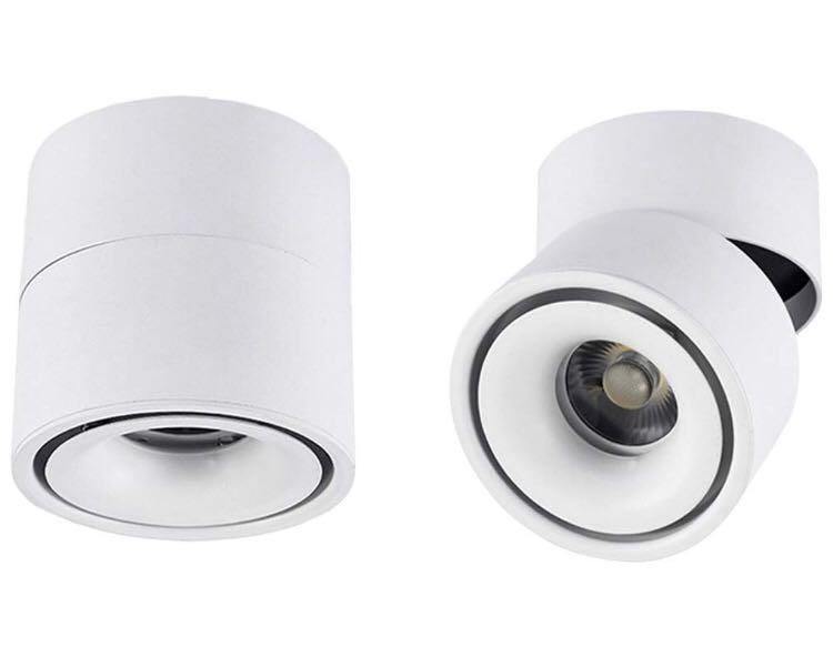 (B0038)-Indoor 10W LED Spotlight (White-Cool White)