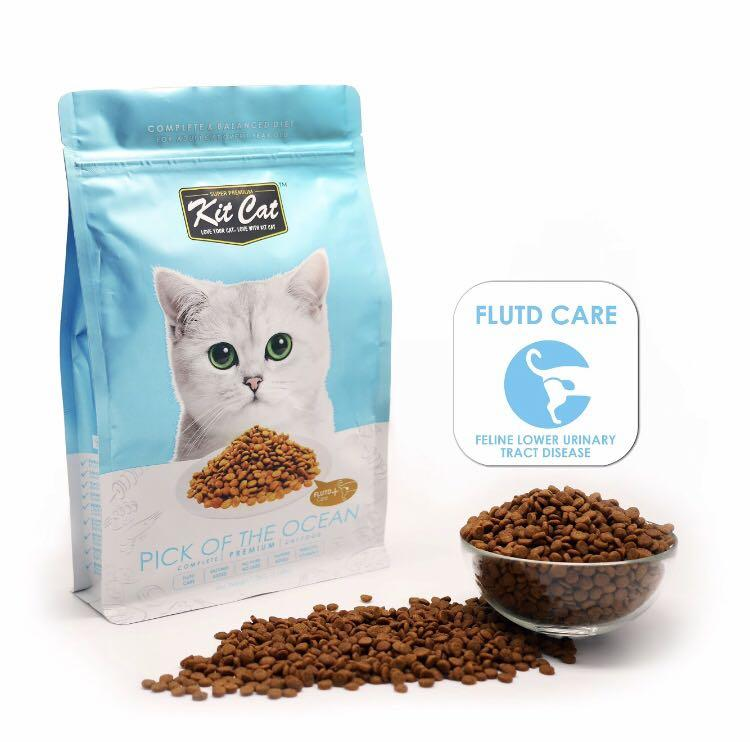 Biscuit/ Kibble/ DRY FOOD KIT CAT - Pick Of The Ocean- 1.2kg (Feline lower urinary tract disease CONTROL)