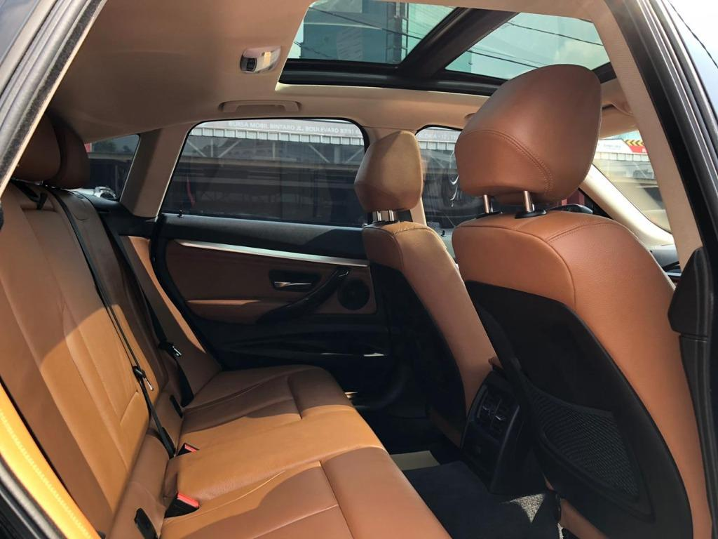 BMW 320i Grand Turismo 2014 Hitam No Pol Genap Dp 91,9 Jt