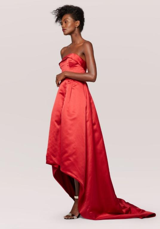 BNWT FAME & PARTNERS RED HELENA GOWN - SIZE 16 AU/12 US (RRP $320)