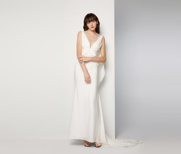 BNWT FAME & PARTNERS WHITE ETERNITY WEDDING GOWN - SIZE 10 AU/6 US (RRP $750)