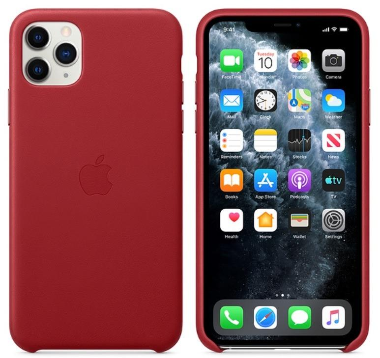 BRAND NEW!! Apple iPhone 11 Pro Official Leather Case in Retail Box