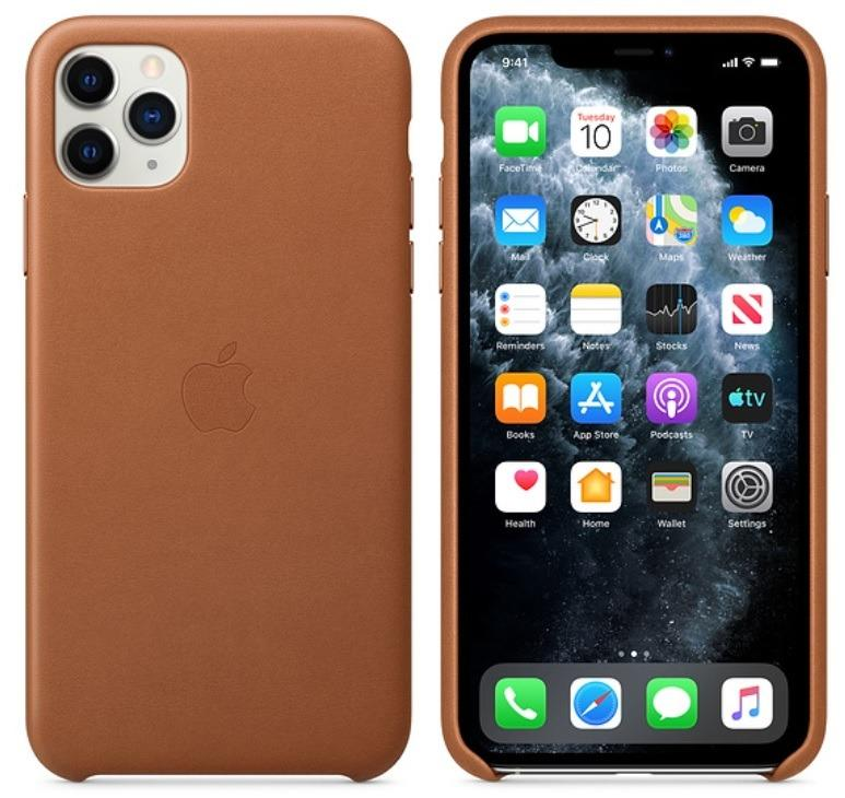 BRAND NEW!! Apple iPhone 11 Pro Max Official Leather Case in Retail Box