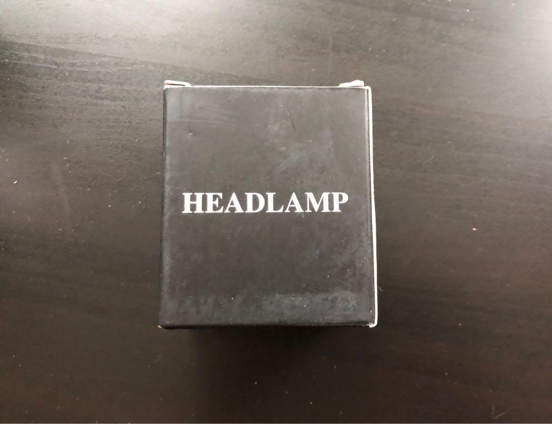 Brand new LED headlamp 6 modes waterproof motion senser