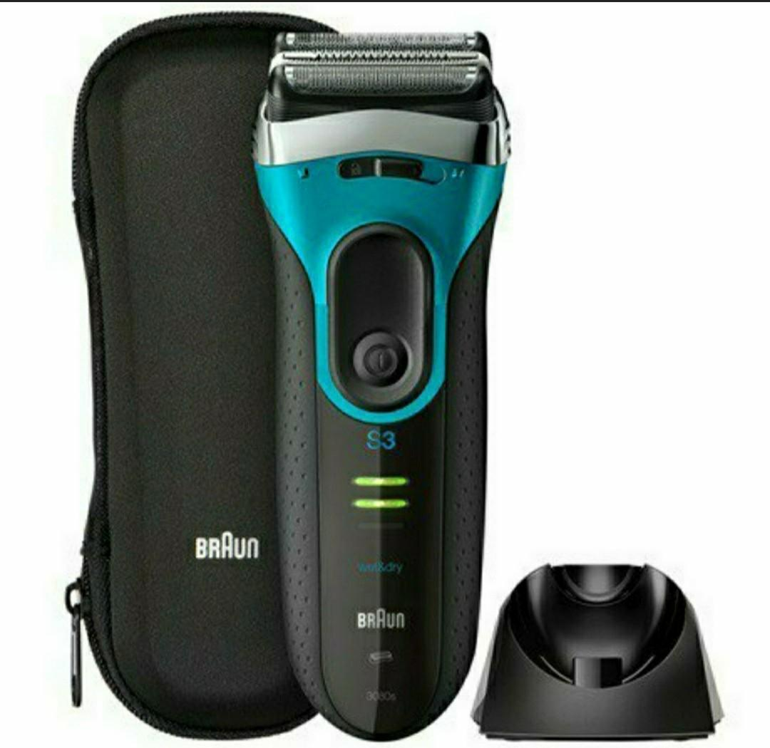 Braun Series 3 ProSkin 3080s Wet & Dry shaver with charging stand