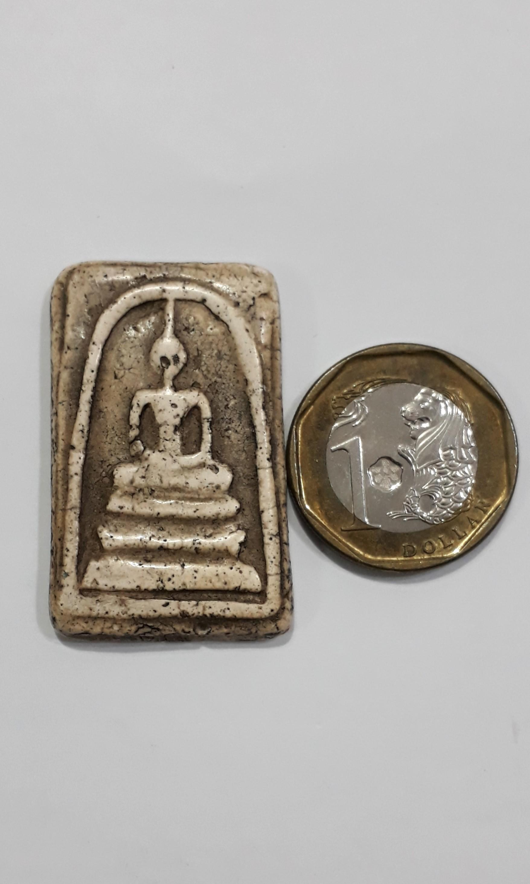 (C2)Phra Somdej Old Thai Amulet