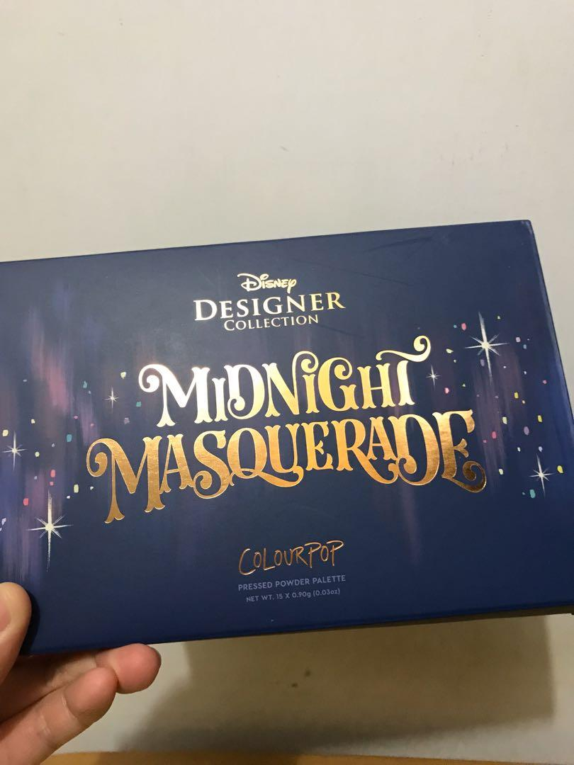 Colourpop Midnight Masquerade palette