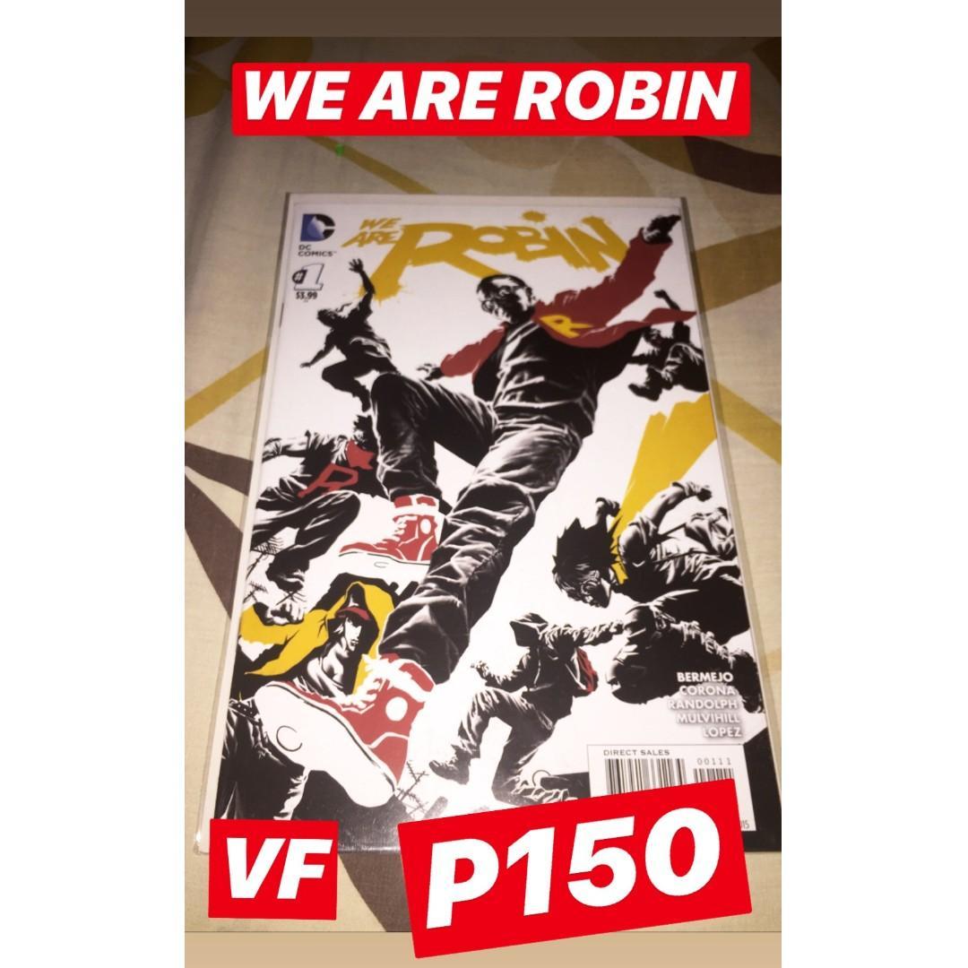 DC Comics #1s (Teen Titans (2014) #1, We Are Robin #1, Cyborg (2015) #1, Batman Beyond (2015) #1)