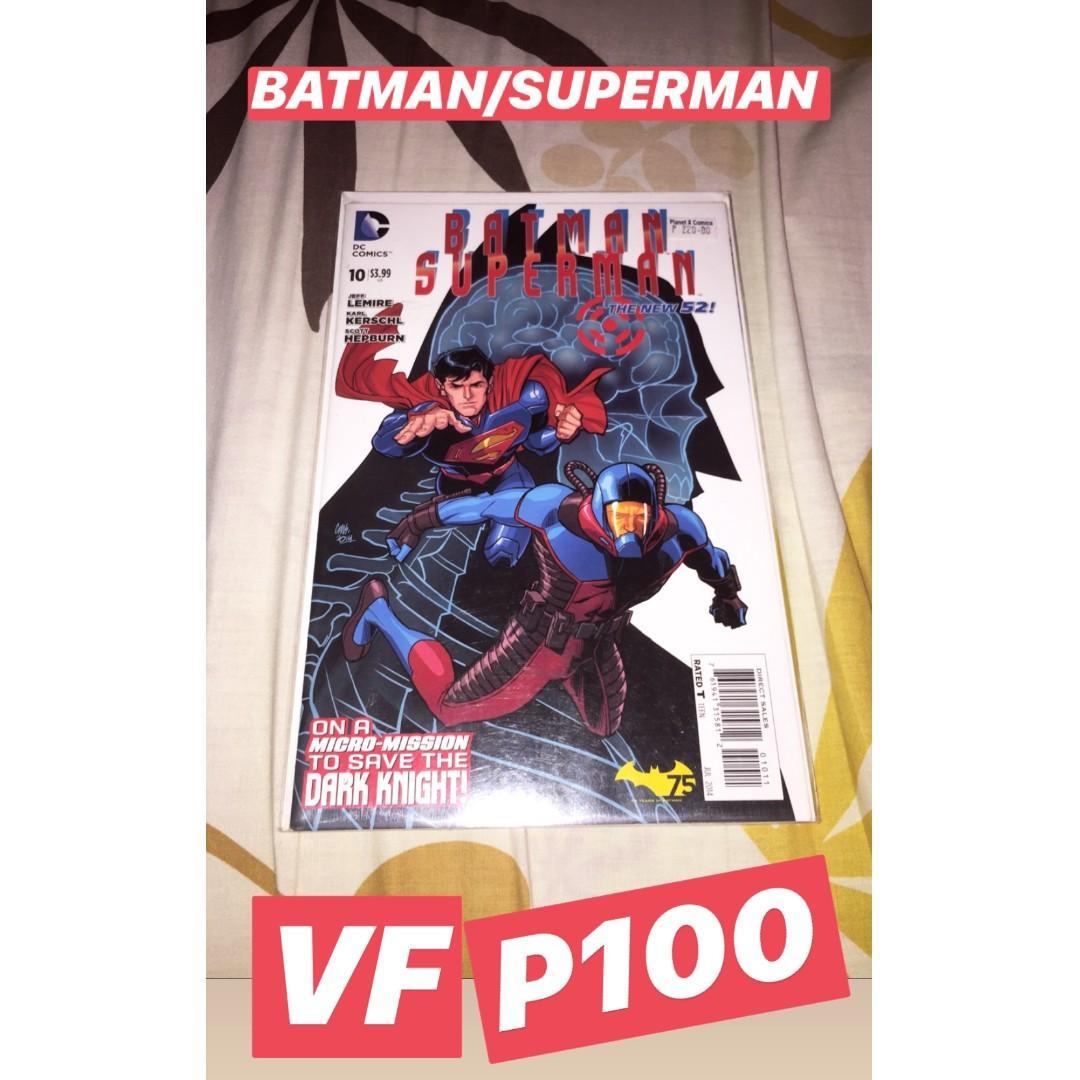 DC Comics Set (JLA  and JLI set, Deathstroke #0 and Deathstroke #4 (New 52), Batman/Superman #10, Justice League Dark #20 (New 52)