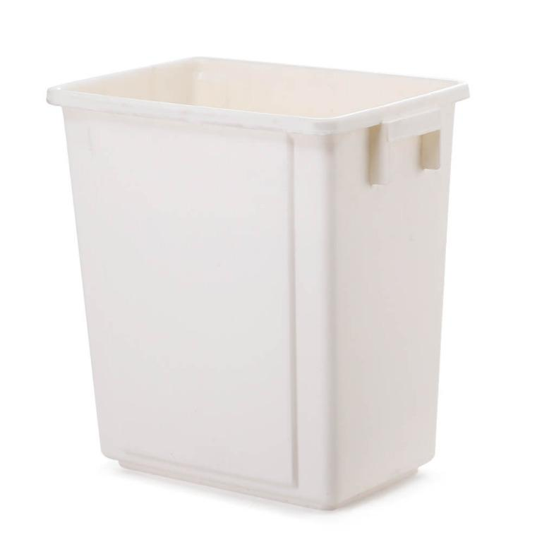 Devanti 20L Pull Out Bin Door Mount Kitchen Rubbish Bin White