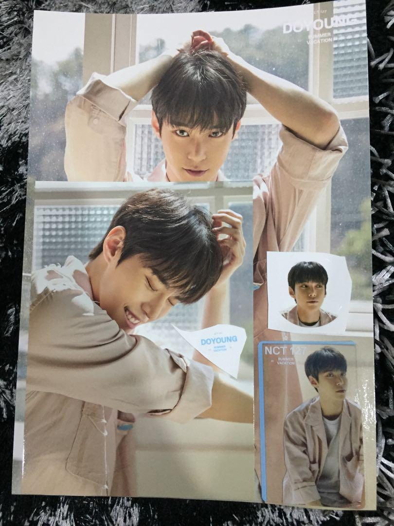 [WTS] DOYOUNG SUMMER VACATION KIT (price can go down to RM20)