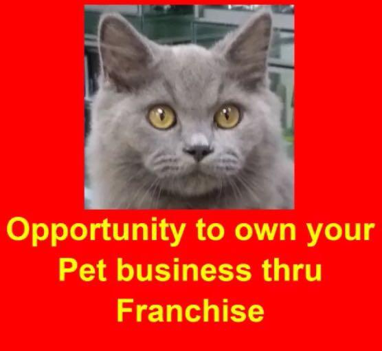 Dreaming of owning a Pet Shop? The FIRST & ONLY franchise in the pet industry in Malaysia. Easy to operate, Low risk high RoI
