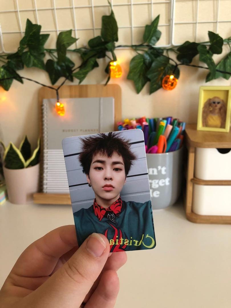 EXO XIUMIN DON'T MESS UP MY TEMPO ALLEGRO VERSION PHOTOCARD